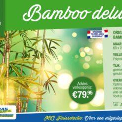 Hoofdkussen Bamboe Deluxe
