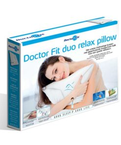 Hoofdkussen Doctor Fit - Duo Relax Pillow - Blue