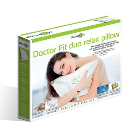 Hoofdkussen Doctor Fit - Duo Relax Pillow - Green