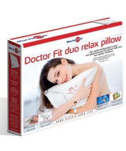 Hoofdkussen Doctor Fit - Duo Relax Pillow - Red