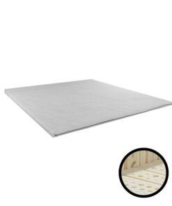 Topmatras Natuurlatex Cooltouch - 6cm - Matrasconcurrent - Met Badge