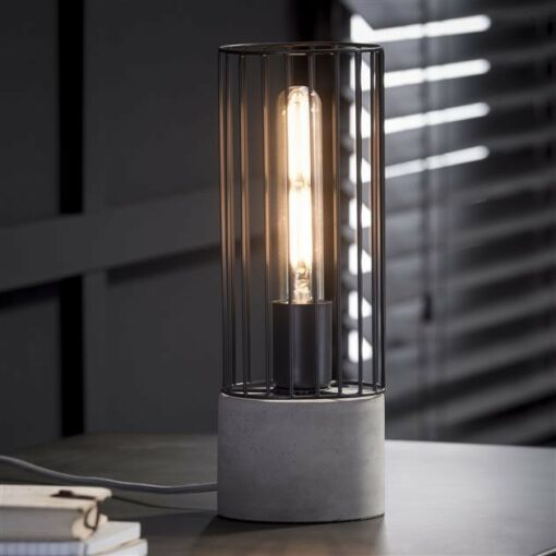 Nachtlamp Cilinder Wire Frame