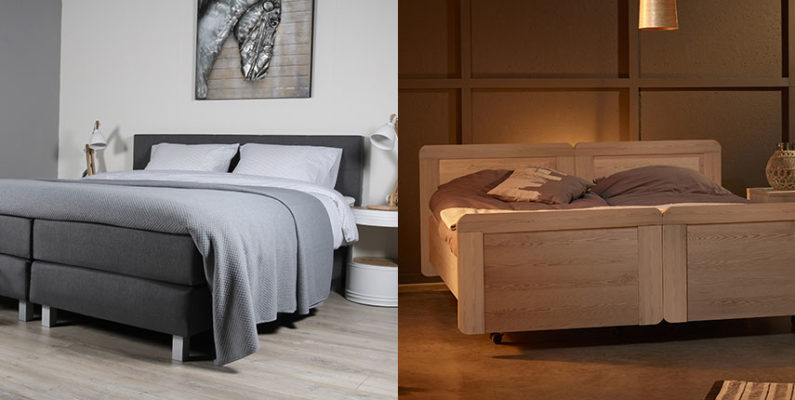 boxspring en bed