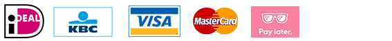 ideal, kbc, visa, mastercard