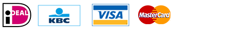 ideal, kbc, visa, mastercard